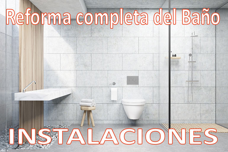 Reforma completa del ba o instalaciones aqua - Reforma del bano ...