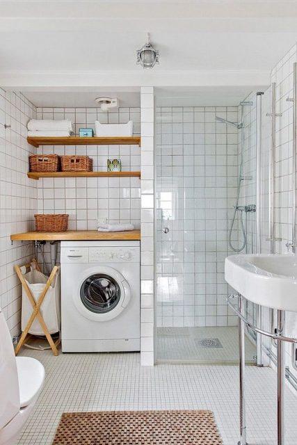 cambio de bañera por ducha con espacio de almacenaje