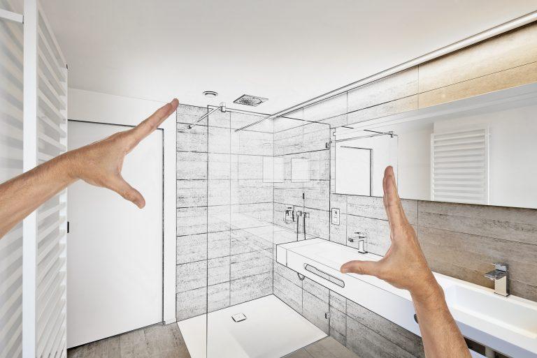 Medidas para muebles sanitarios en el cuarto de baño