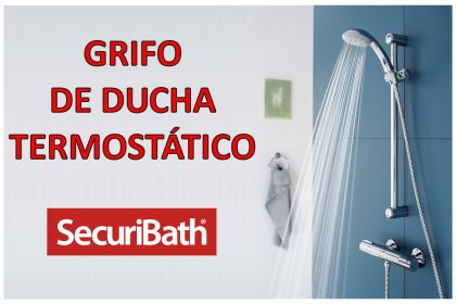 Grifo de ducha termostático - SecuriBath