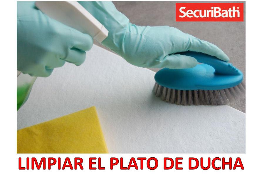Limpiar el plato de ducha securibath c mo limpiar el for Como limpiar el plato de ducha