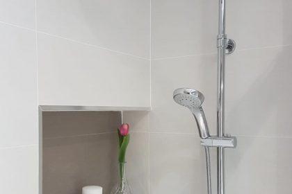 Hornacina en paredes en baño con bañera- Securibath
