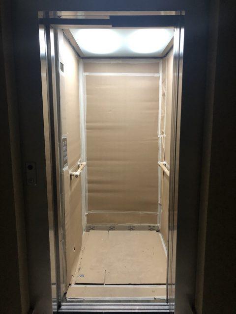 protección del ascensor