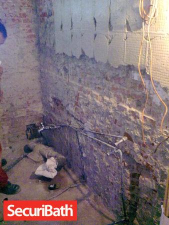 demolicion reforma baño securibath