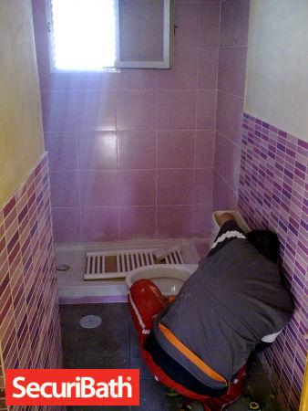 instalacion aparatos reforma baño securibath
