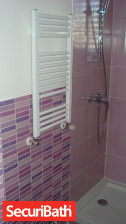 radiador toallero reforma baño securibath
