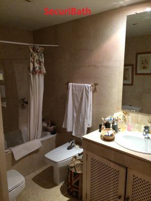 Reforma de baño estilo retro - SecuriBath Solutions